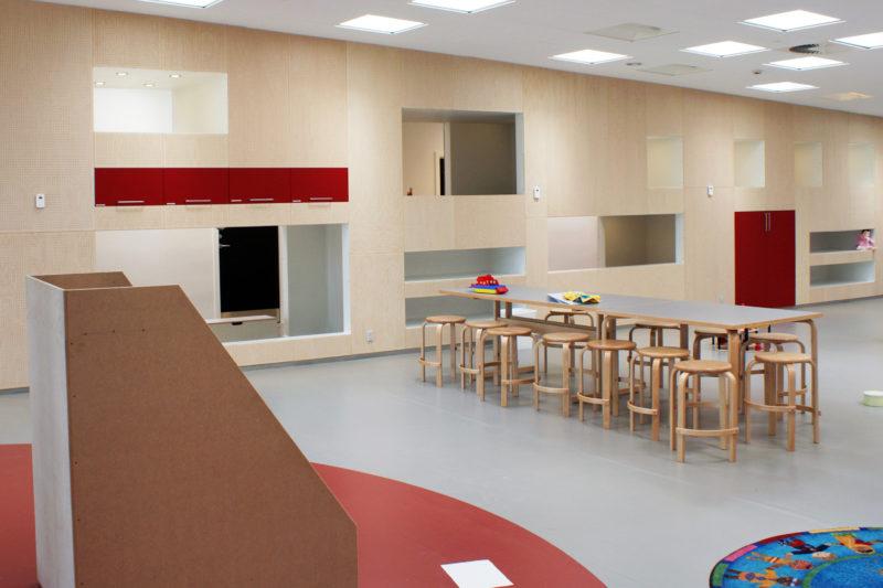 Interiør i børnehave